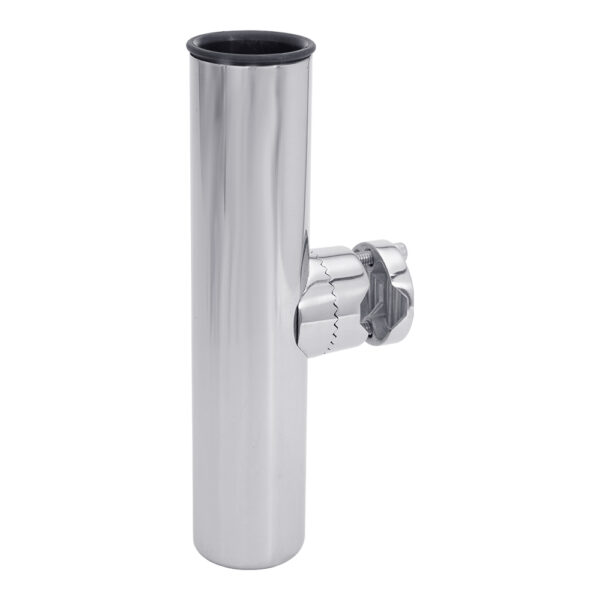 White Water Economic Clamp On Rod Holder Stainless
